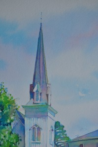 mendocino steeple